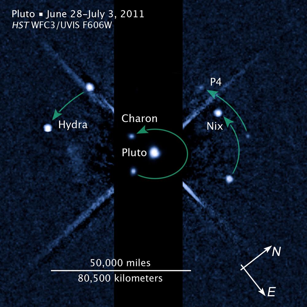 Pluto's New Moon