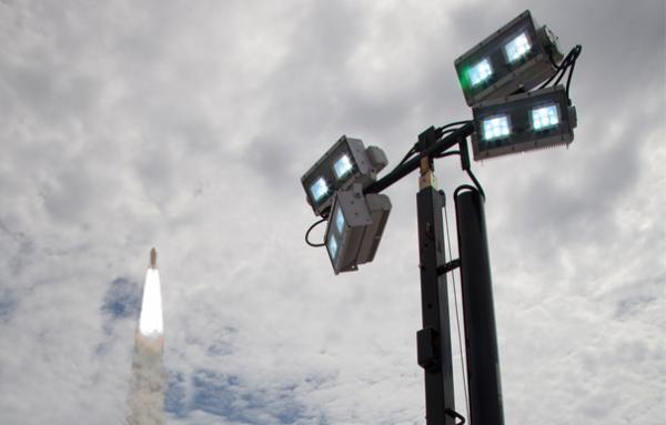Hydrogen Fuel Helps Shine Light on Final Shuttle Launch