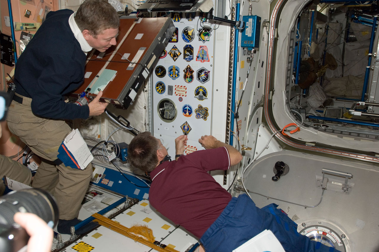 Omega on Alpha: Final Shuttle Crew Leaves Their Mark on Space Station