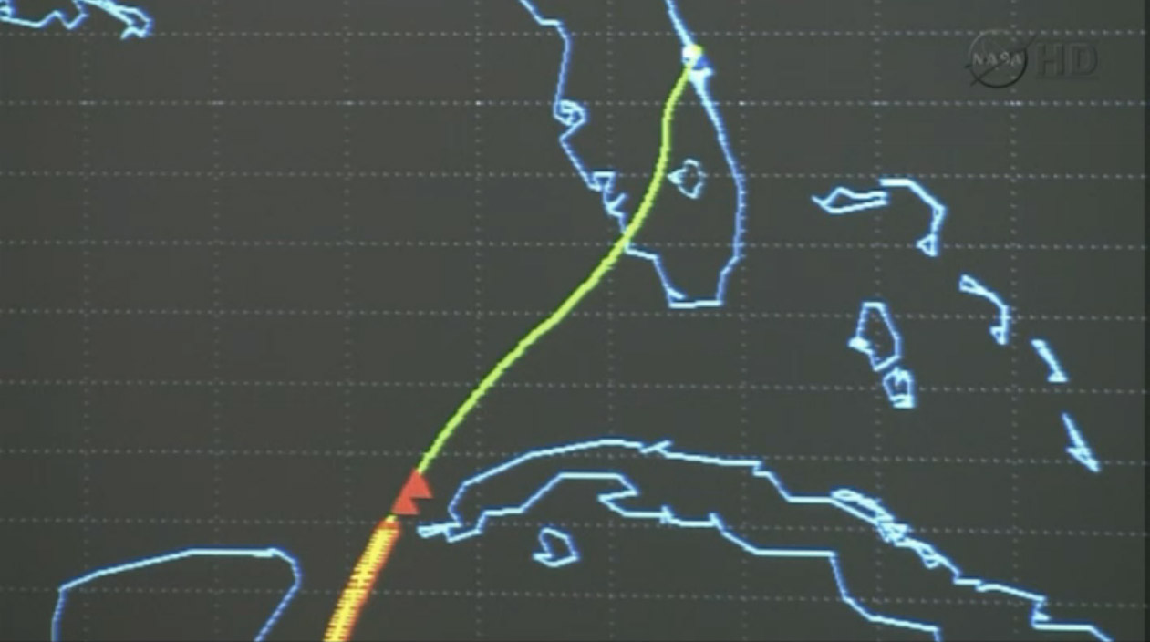 Shuttle Atlantis Nears Final Florida Landing