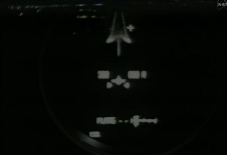 Final Space Shuttle Landing: Pilot's View