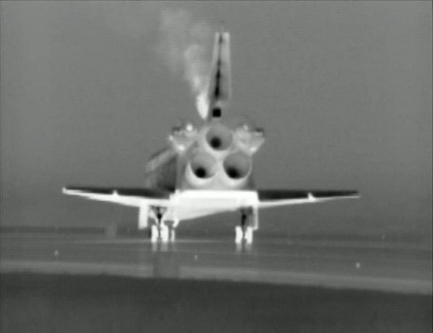 Shuttle Atlantis Rests After Final Voyage