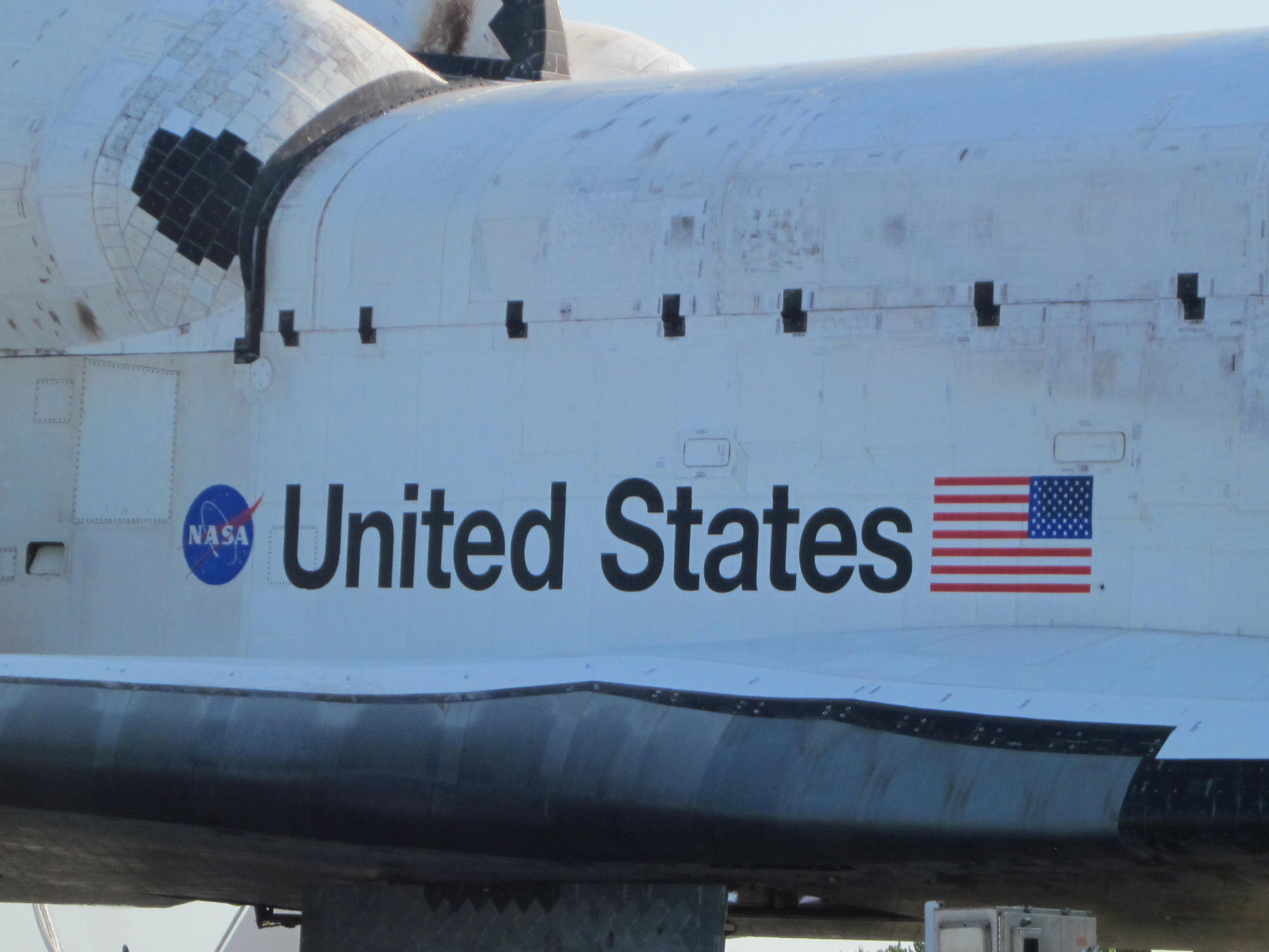 Starboard Exterior of Space Shuttle Atlantis