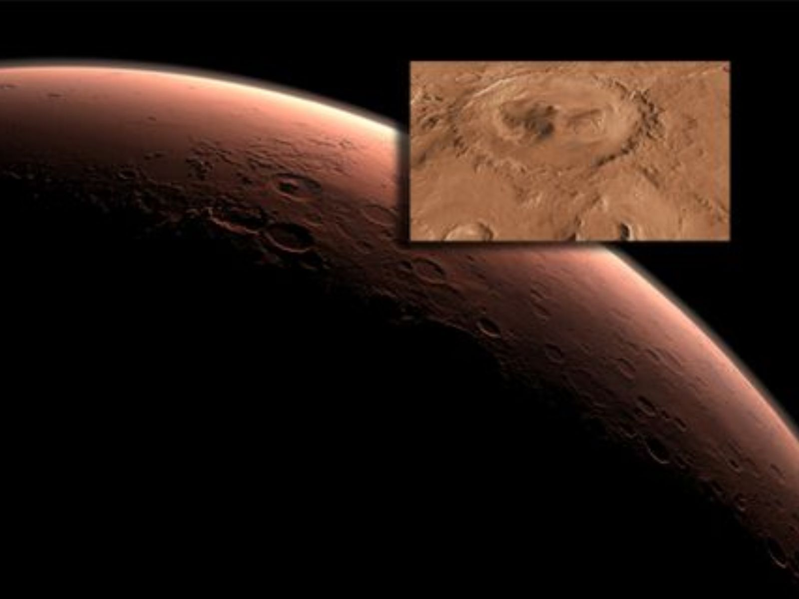 NASA's next Mars rover will land at the foot of a layered mountain inside the planet's Gale Crater.