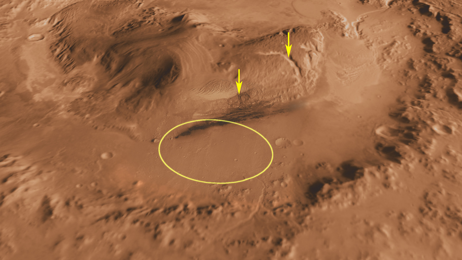 gale crater rover in mars - photo #11