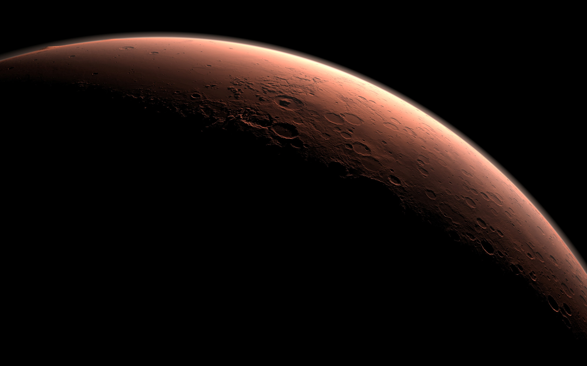 Daybreak at Gale Crater