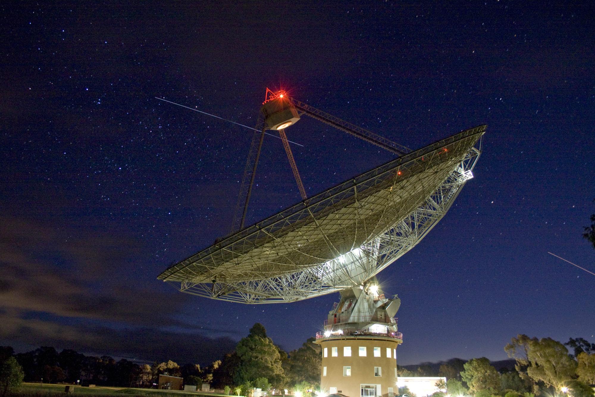 In a Land Down Under, Where Spacecraft Glow  In a Land Down Under, Where Spacecraft Glow