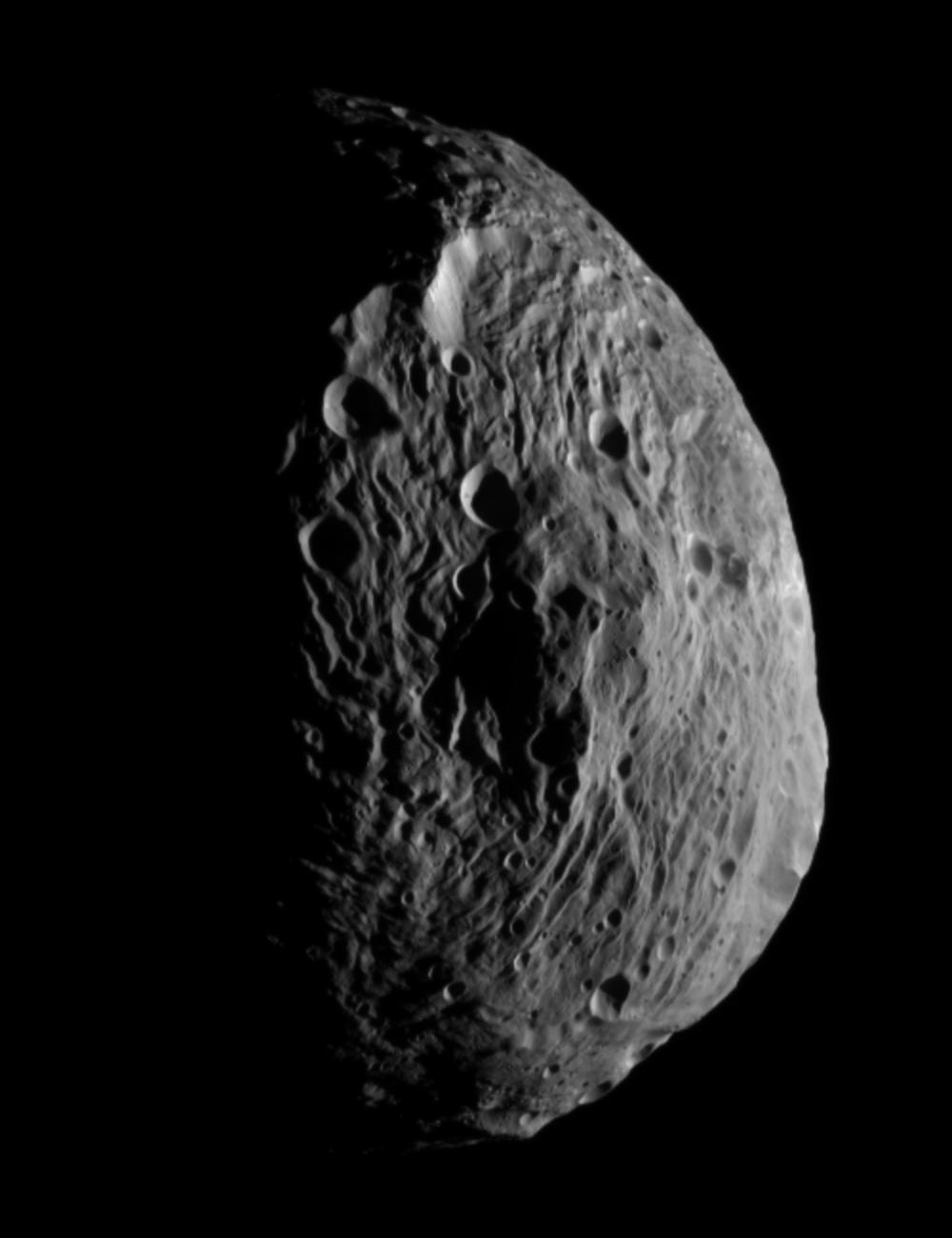 New Photo Reveals Day & Night on Huge Asteroid Vesta
