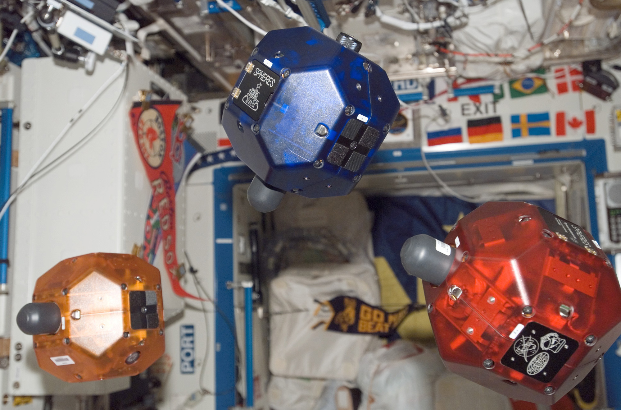 Smartphone-Controlled Robots Aid Astronauts on Space Station