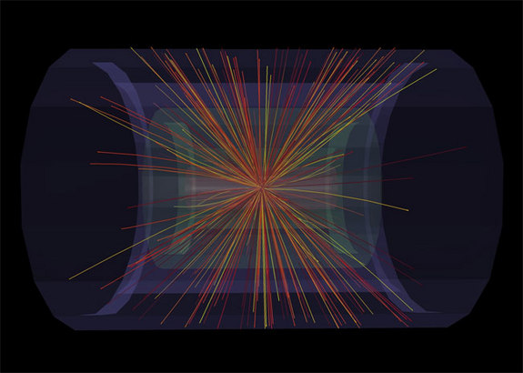 CERN's Large Hadron Collider Creates Conditions Moments After Big Bang