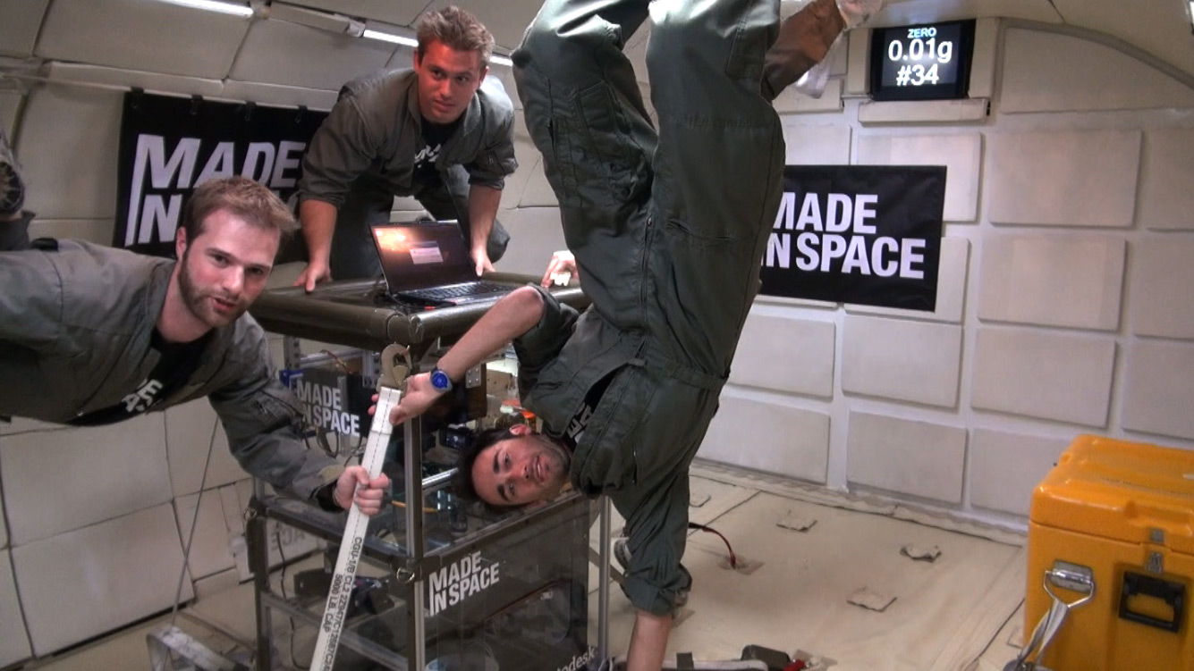 3-D Printer Passes Zero Gravity Test to Make Space Tools