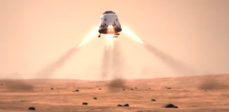 SpaceX Mars Mission: People Mover