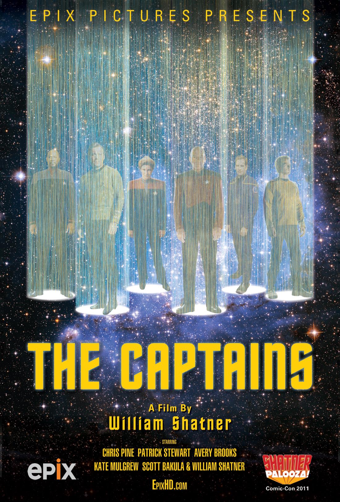 'Star Trek' Captains Join Forces in New William Shatner Documentary