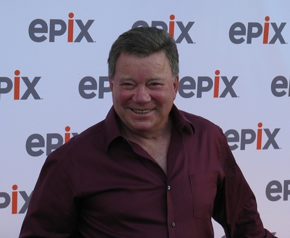"William Shatner arrives at the Intrepid Sea-Air-Space Museum for a screening of his new ""Star Trek"" documentary, ""The Captains."""