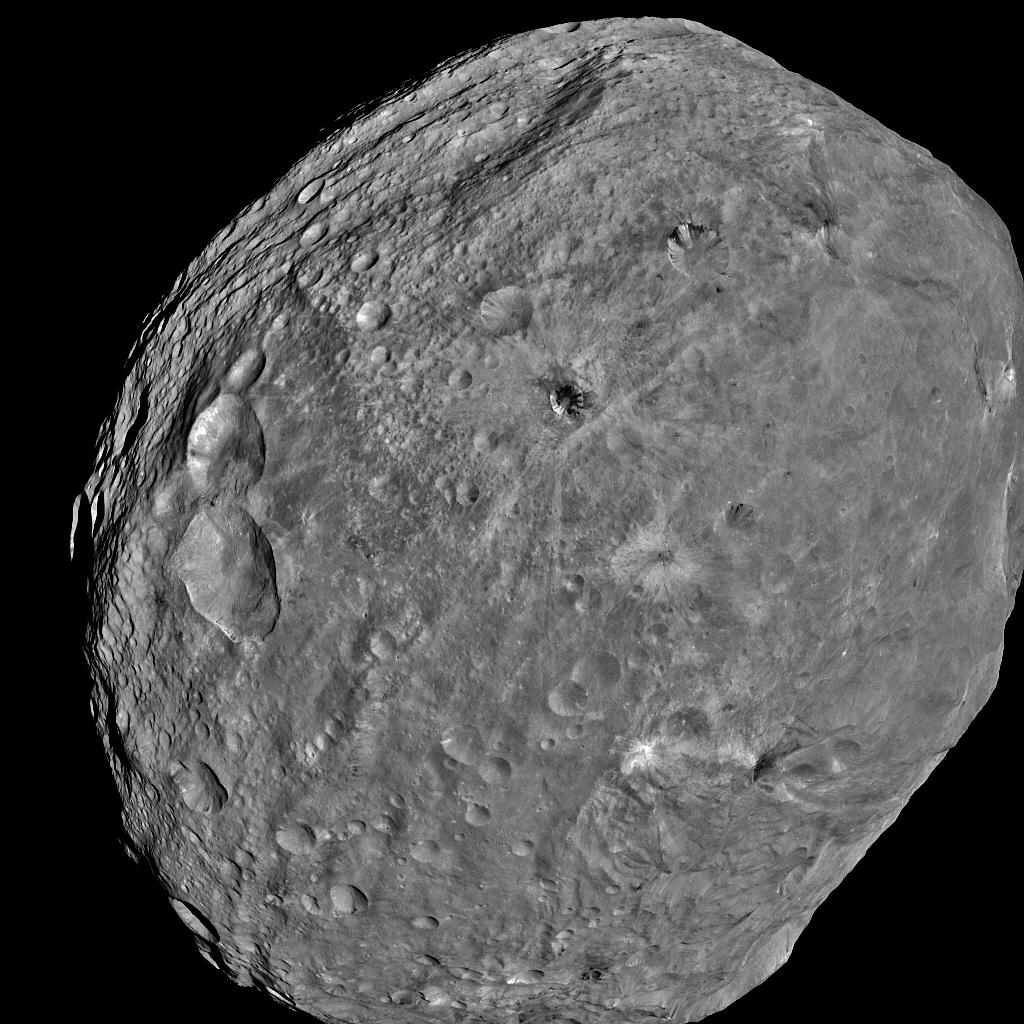 Giant Asteroid Vesta's Planetary Chances Killed by Jupiter