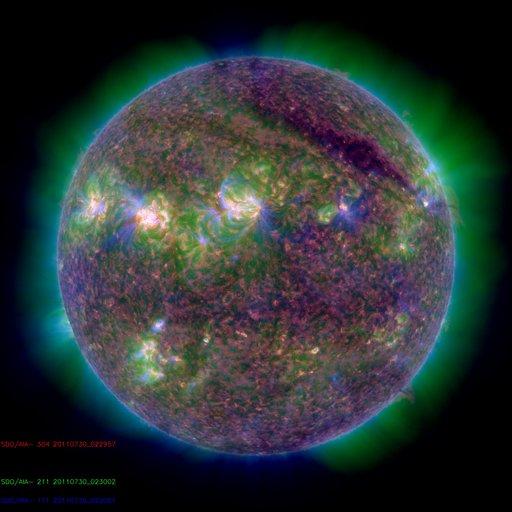 M-Class Solar Flare - Solar Dynamics Observatory