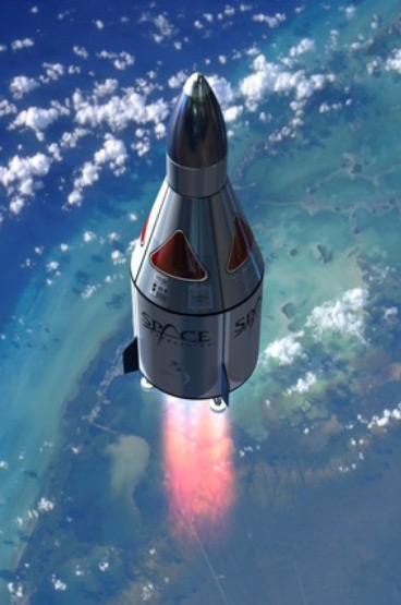 Ascent of Space Adventures' Suborbital Vehicle