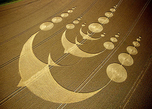 Crop-Circle Artists Becoming High Tech