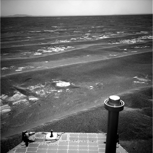 NASA Rover Drives 20 Miles on Mars