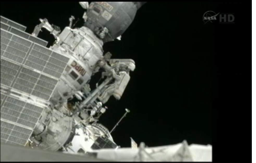 Spacewalking Cosmonauts Throw Amateur Radio Satellite Into Orbit