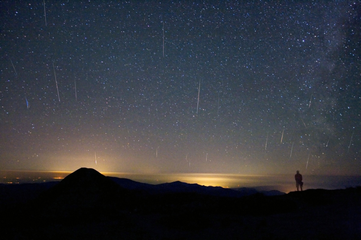 Tudorica Image of 2008 Perseid Meteor Shower