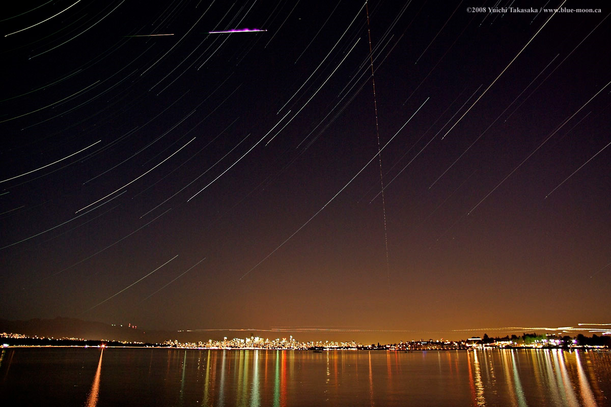Perseid & Vancouver Waterfront