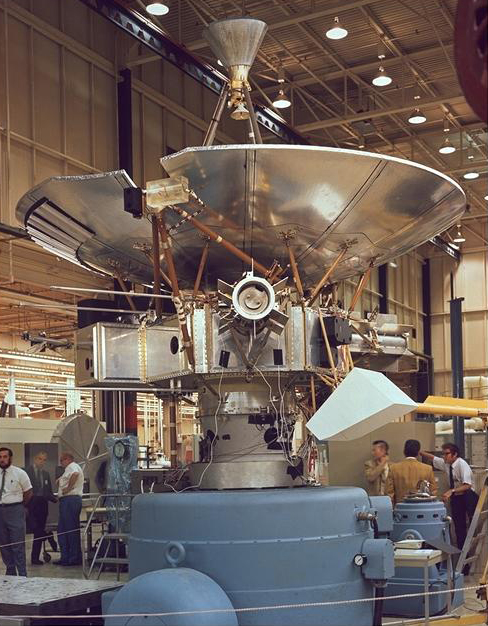 Pioneer 10 spacecraft
