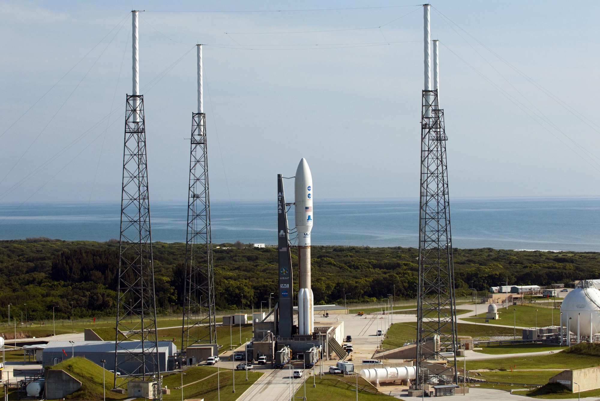 Juno Spacecraft Awaits Launch