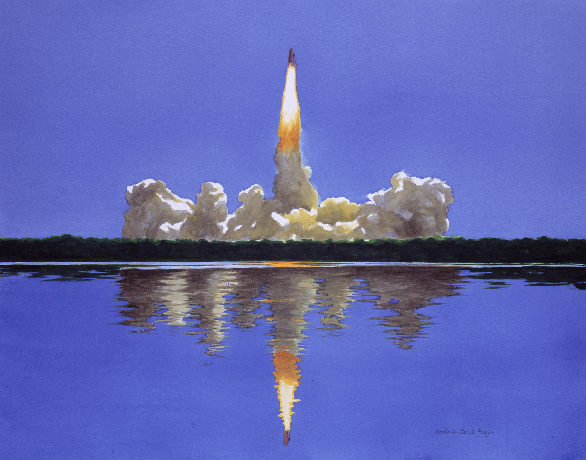 Art of Space: NASA Exhibit Launches Artist as Icon