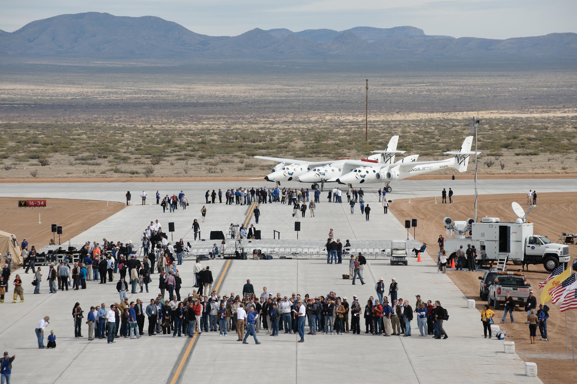 Spaceport America's Runway Dedication