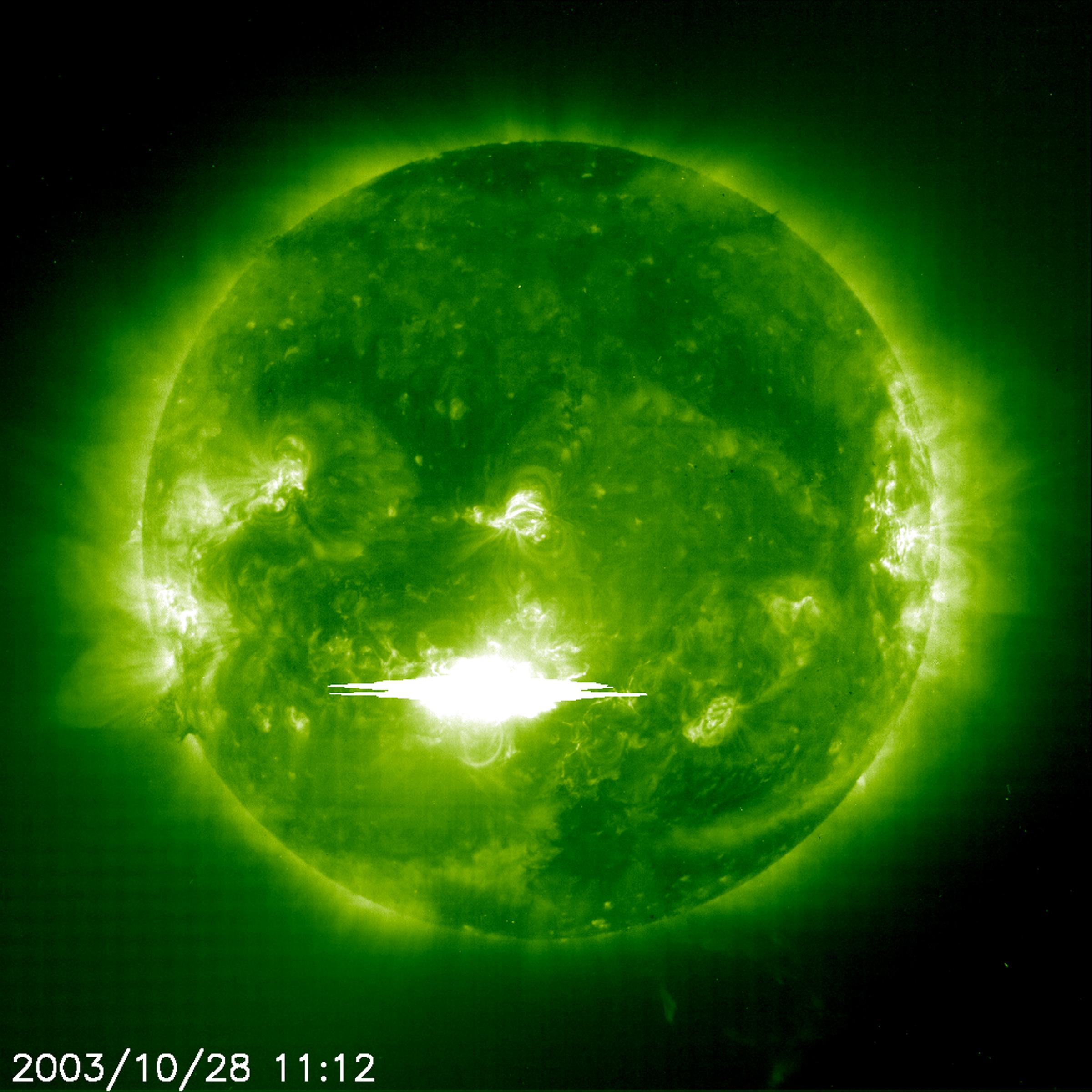 2003: The Ultra-Powerful Halloween Sun Storm