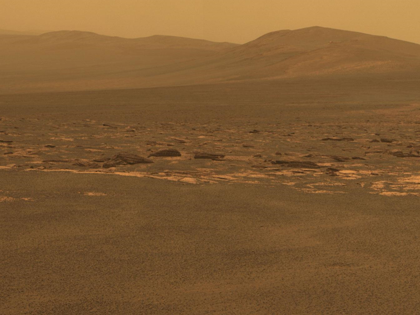 NASA Rover Arrives at Huge Mars Crater After 3-Year Trek