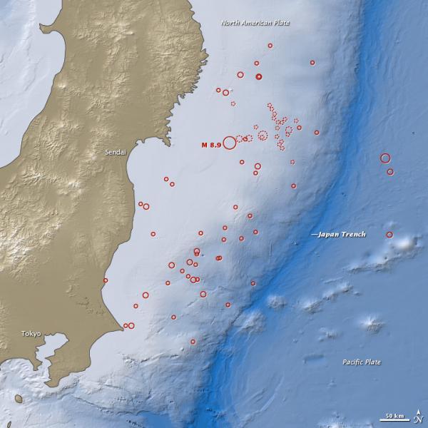 Massive Japan Quake Even Rattled Upper Atmosphere