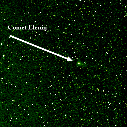 NASA Sun-Watching Satellite Spots Comet Elenin in Deep Space