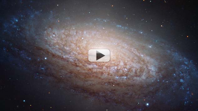 Puffy Spiral Galaxy Finally Gets Its Close-Up