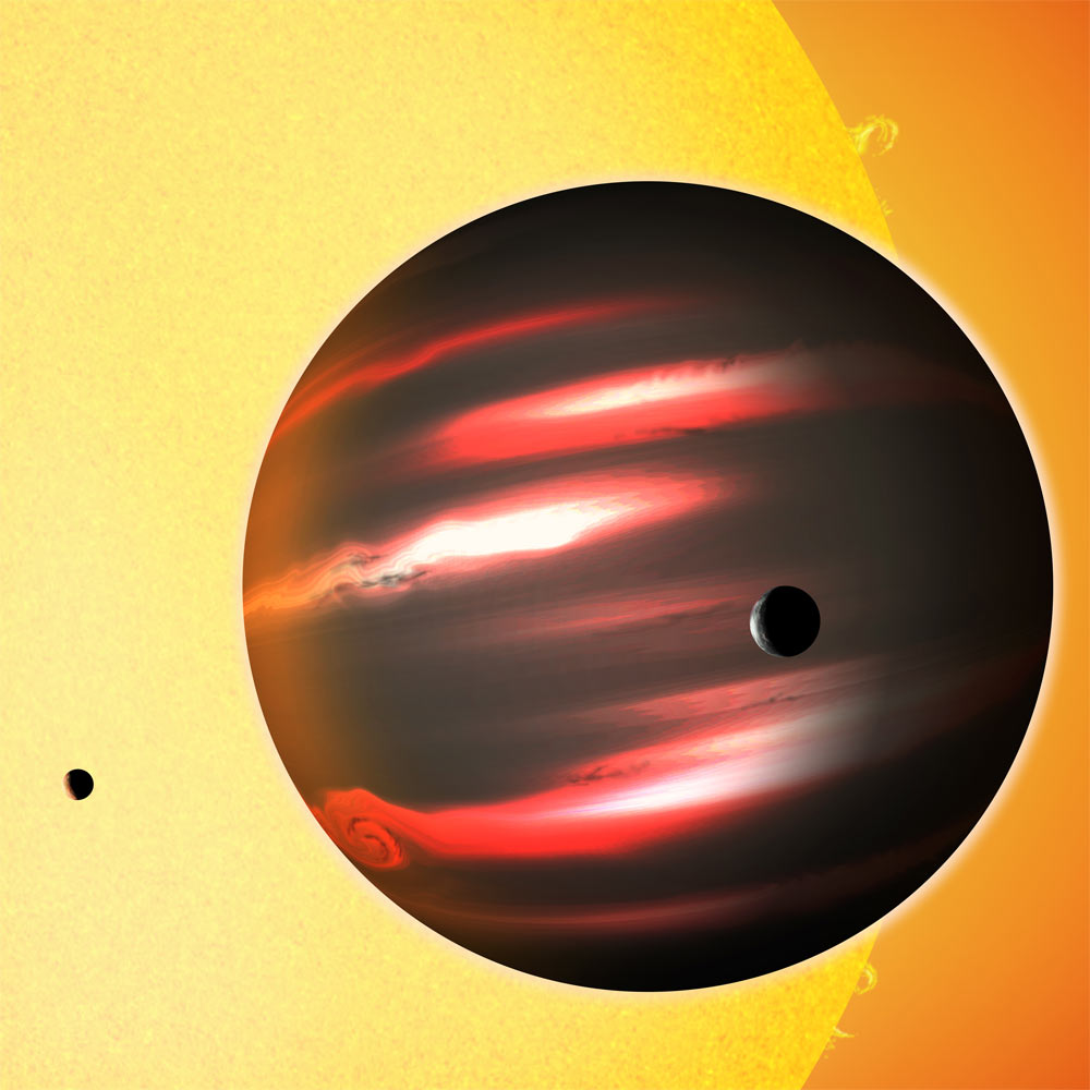 Coal-Black Alien Planet Is Darkest Ever Seen