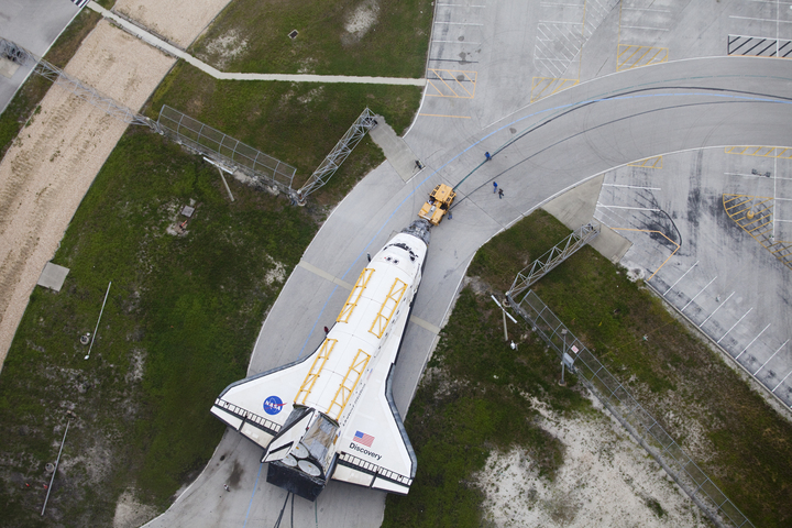 Discovery Rolls Out
