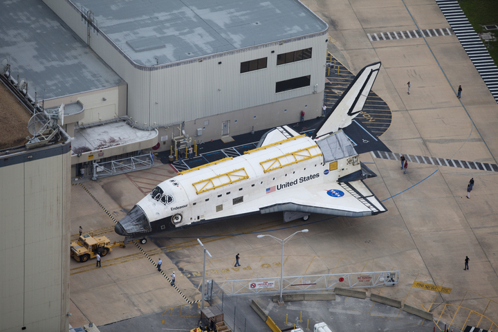 Endeavour On The Move