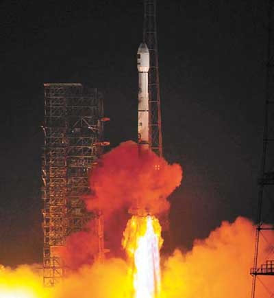 Chinese Rocket Launches New Satellite for Pakistan