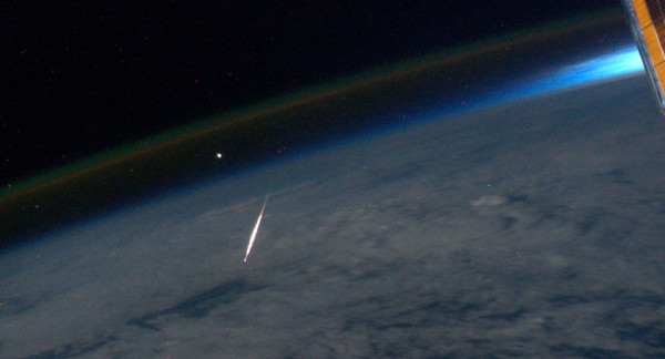 'Shooting Star' From Space