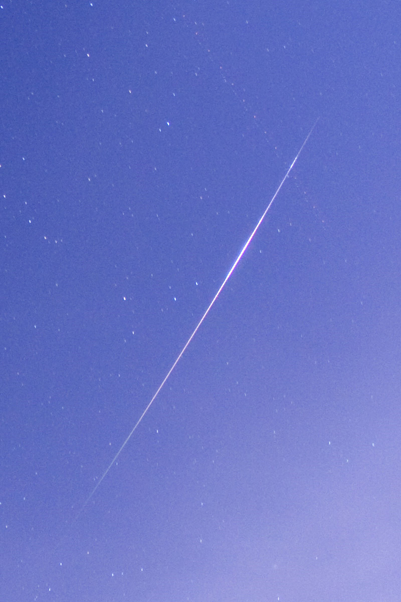Perseid Over Freeland, Maryland