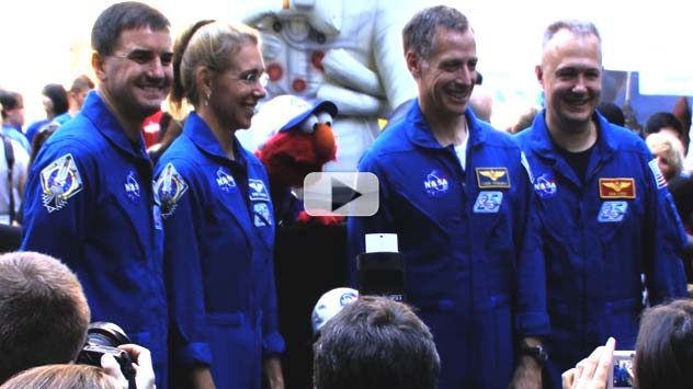 NASA in NYC: Astronauts, Elmo and the Deputy Administrator