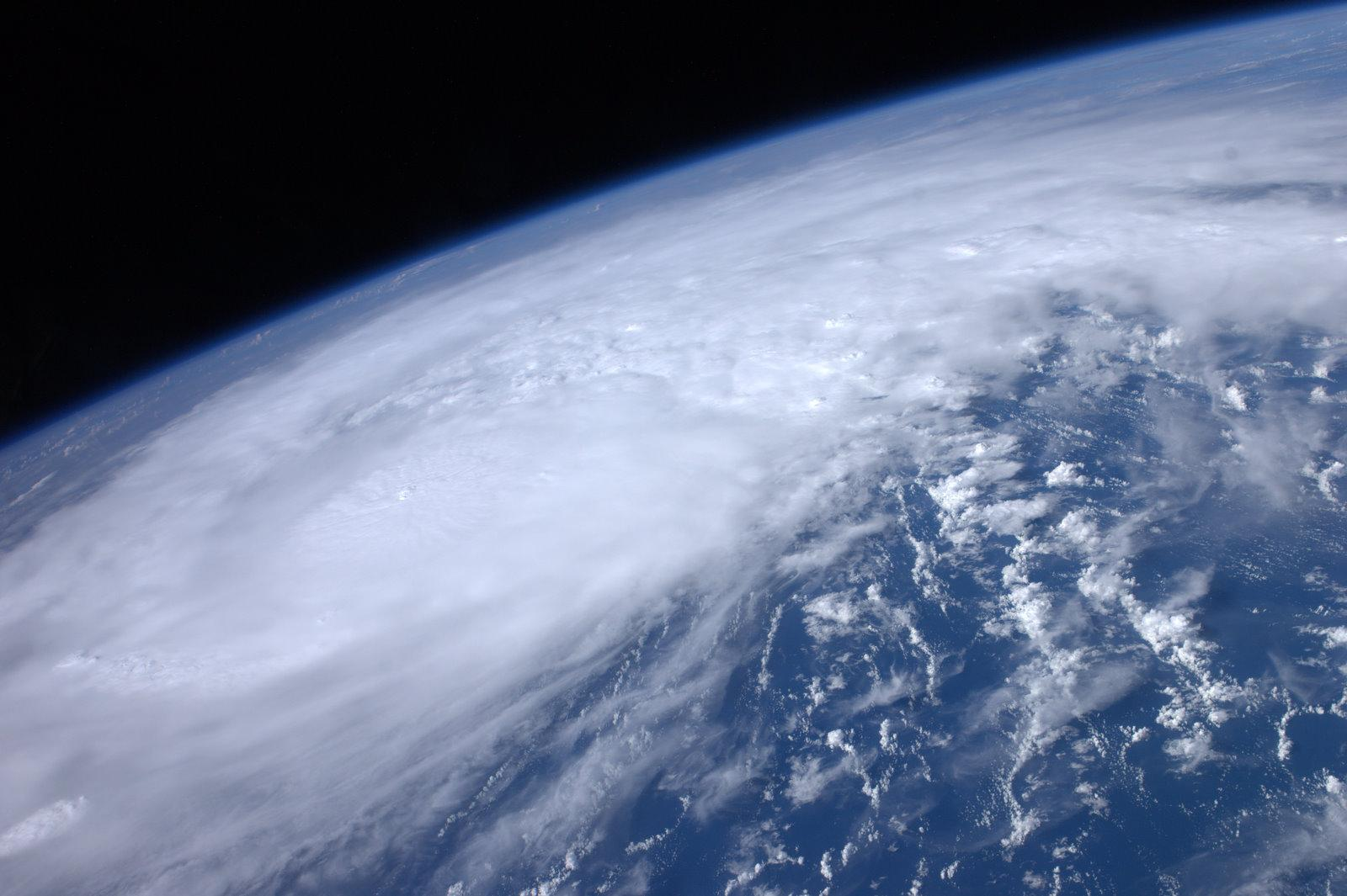 Astronaut Photographs Hurricane Irene