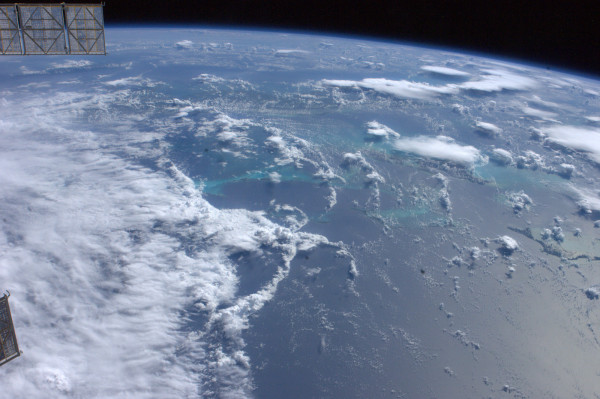 Hurricane Irene as Seen by Astronaut Garan on the International Space Station