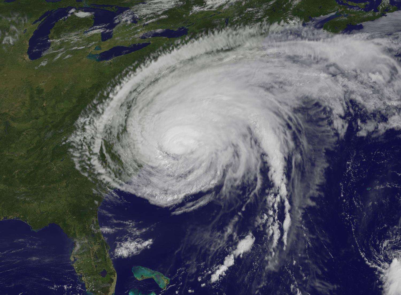 Hurricane Irene Batters U.S. East Coast - Landfall