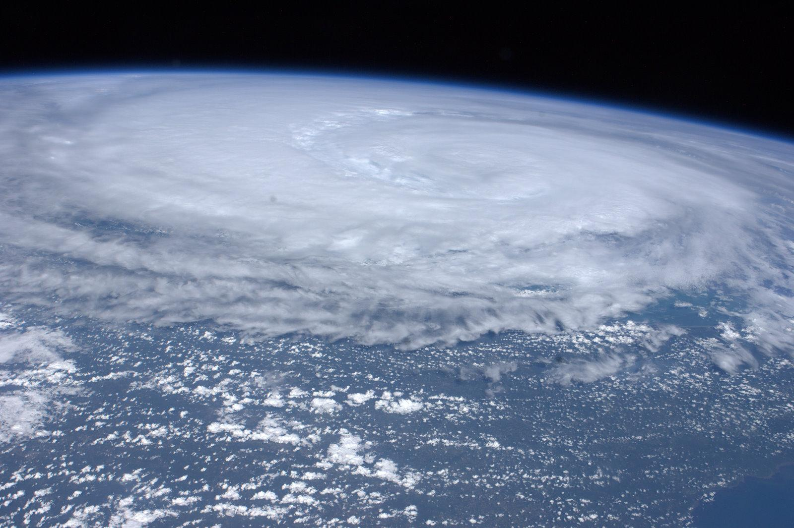 Hurricane Irene From Space Station - Aug. 26, 2011
