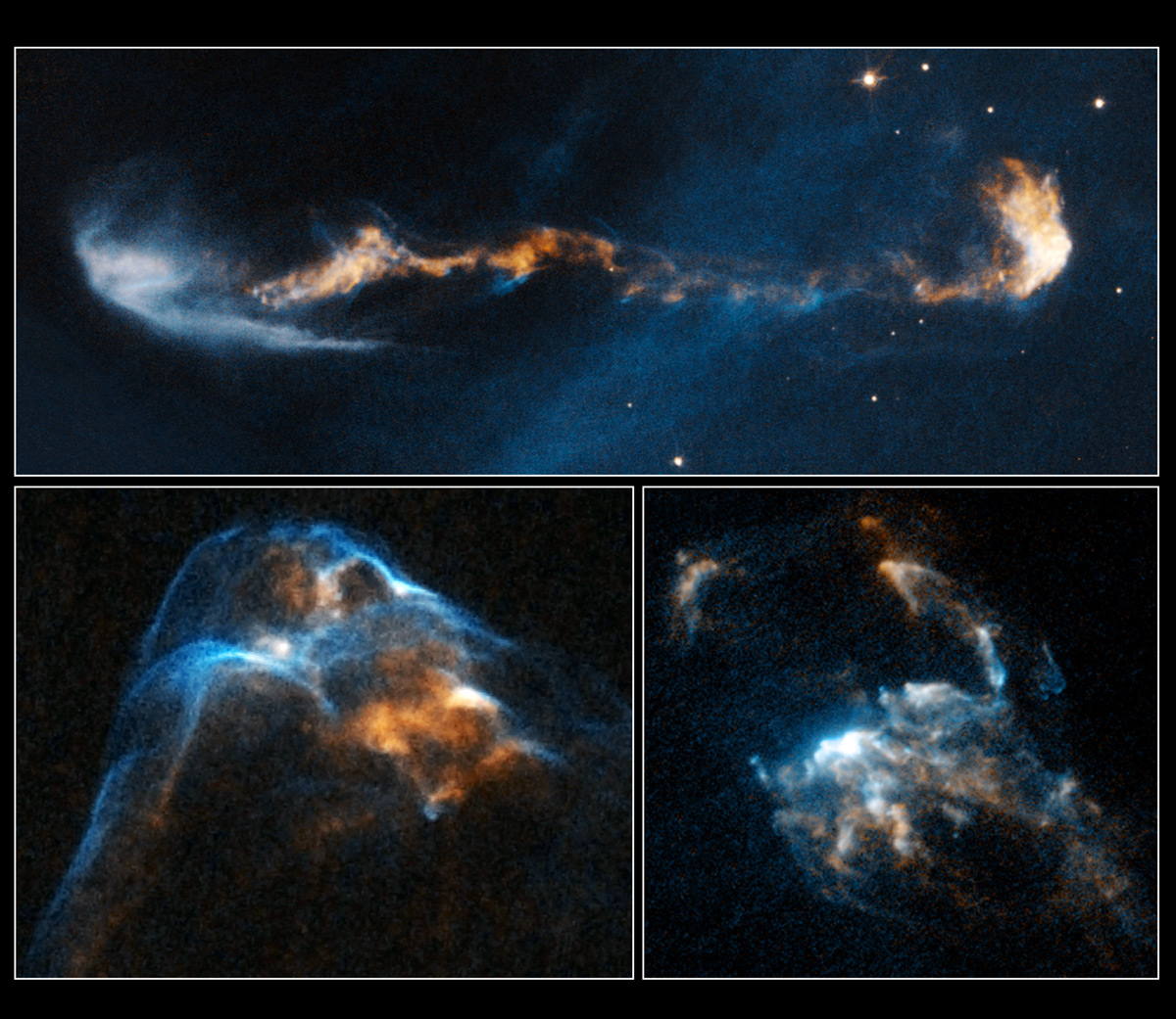 Hubble Videos Show Baby Stars & Violent Jets
