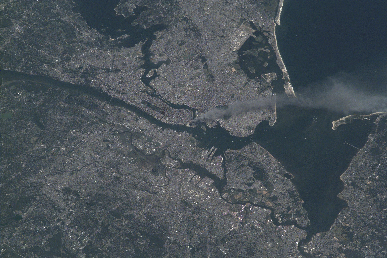 Smoke Plume Rising from Manhattan 2