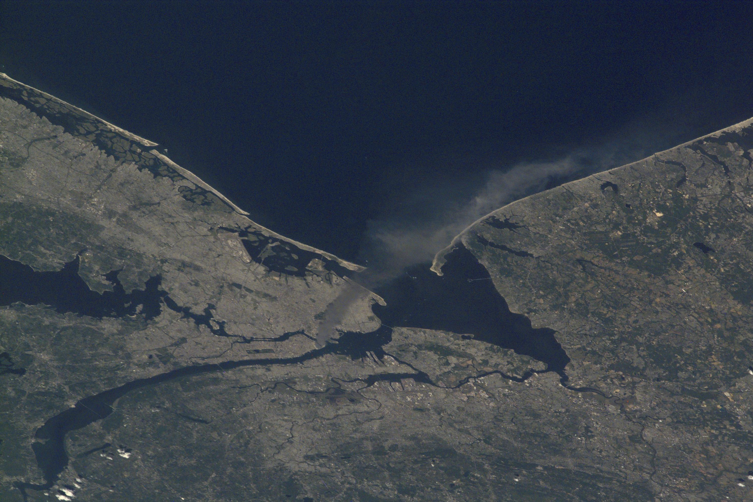 Smoke Plume Rising from Manhattan 3