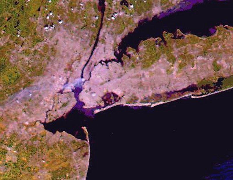 NASA's Terra Satellite 9/11 Image